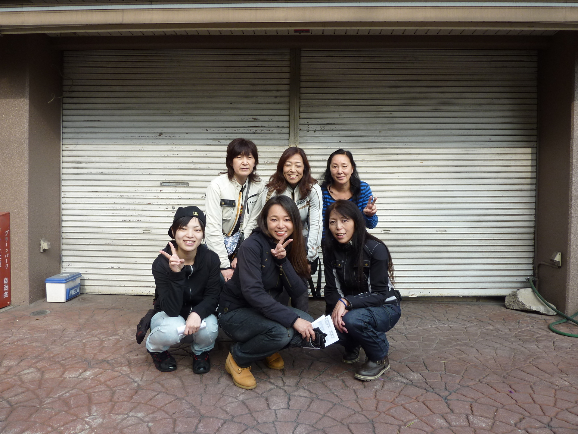 おばさん 集合写真 shiromuku(fs6)DIARY